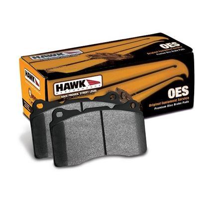 Hawk Acura TL L OES Street Rear Brake Pads - Acura tl brake pads